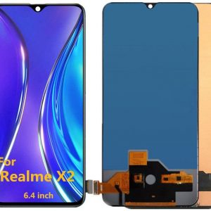 Realme X2 LCD with Touch Screen for -(display glass combo folder) 1