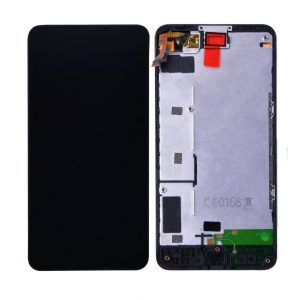 Nokia Lumia 635 RM-974 LCD with Touch Screen – Black (display glass combo folder) 9