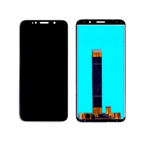 Huawei Honor 7s LCD with Touch Screen - Black (display glass combo folder)