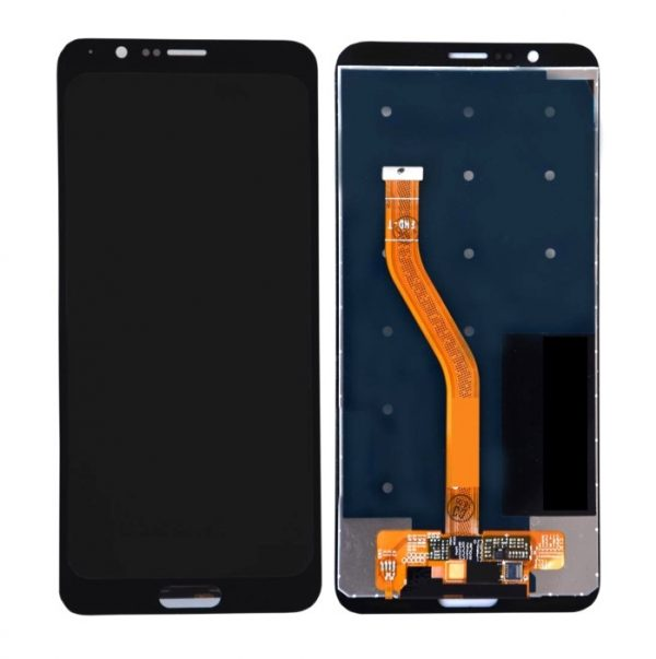 Huawei Honor View 10 LCD with Touch Screen - Black (display glass combo folder)
