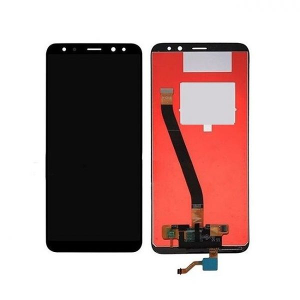 Huawei Mate 10 Lite LCD with Touch Screen - Black (display glass combo folder)