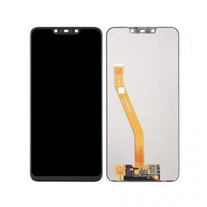 Huawei Nova 3 LCD with Touch Screen – Black (display glass combo folder) 1