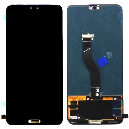 Huawei P20 Pro LCD with Touch Screen - Black (display glass combo folder)