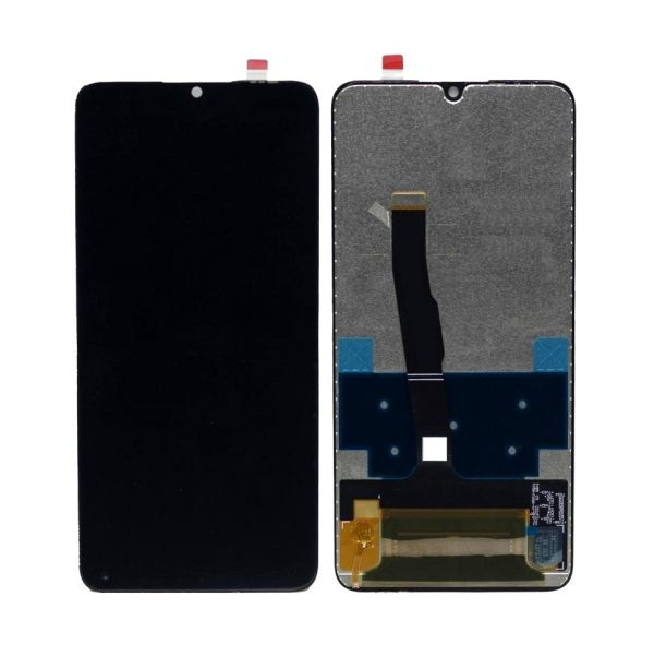 Huawei P30 Lite LCD with Touch Screen - Black (display glass combo folder)