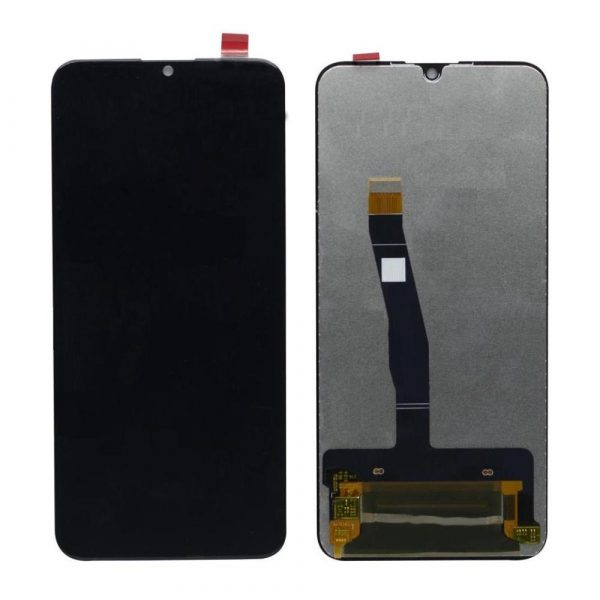 Huawei P Smart 2019 LCD with Touch Screen - Black (display glass combo folder)