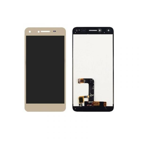 Huawei Y6II Compact LCD with Touch Screen for - Gold (display glass combo folder)