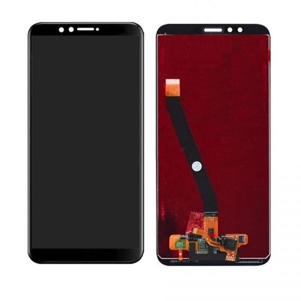 Huawei Y9 (2018) LCD with Touch Screen - Black (display glass combo folder)