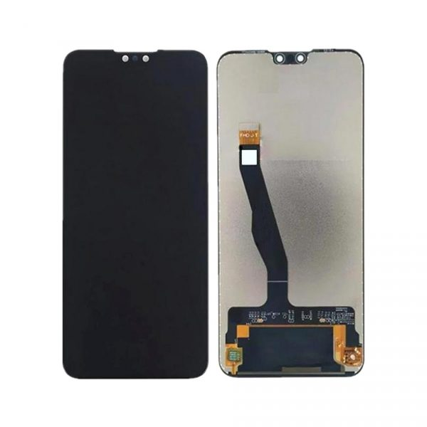 Huawei Y9 2019 LCD with Touch Screen - Black (display glass combo folder)