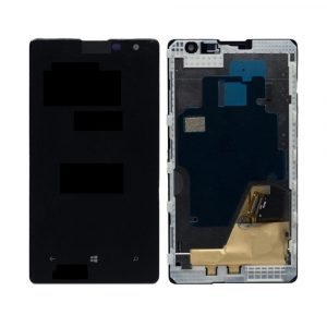 Nokia Lumia 1020 LCD with Touch Screen - Black (display glass combo folder)