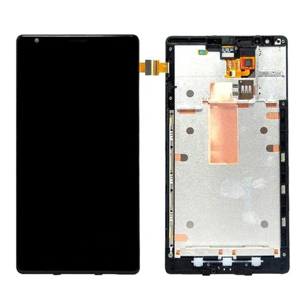 Nokia Lumia 1520 LCD with Touch Screen - Black (display glass combo folder)