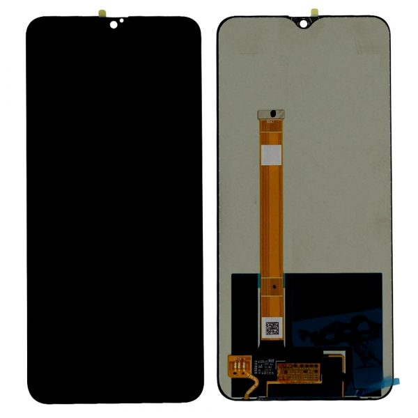 Oppo A9 LCD with Touch Screen - Black (display glass combo folder)