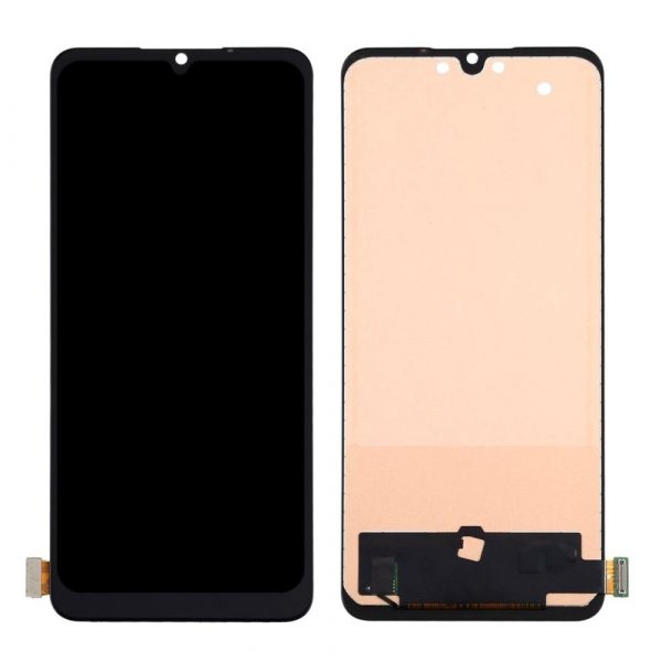 Oppo F15 LCD with Touch Screen - Black (display glass combo folder)