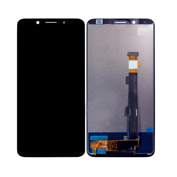 Oppo F5 LCD with Touch Screen - Black (display glass combo folder)