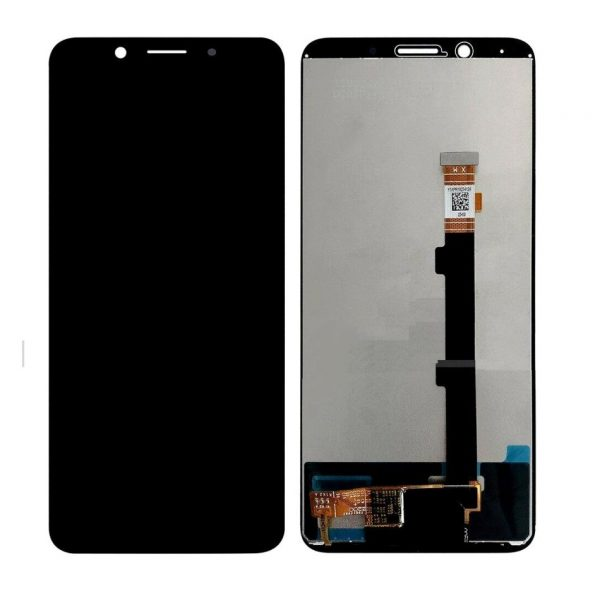 Oppo F5 Youth LCD with Touch Screen - Black (display glass combo folder)
