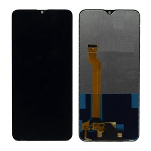 Oppo F9 LCD with Touch Screen- Black (display glass combo folder) 1