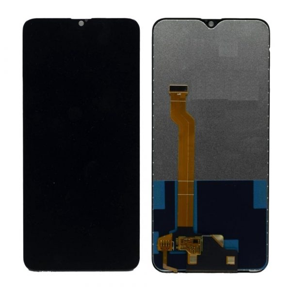 Oppo F9 LCD with Touch Screen- Black (display glass combo folder)
