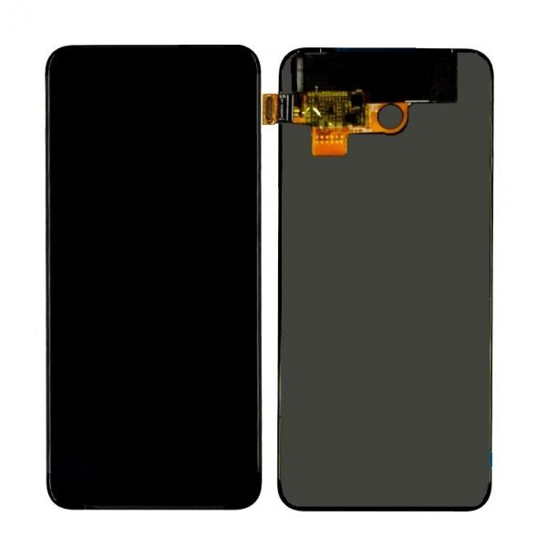Oppo K3 LCD with Touch Screen - Green (display glass combo folder)