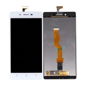 Oppo Mirror 5s LCD with Touch Screen – White (display glass combo folder) 1