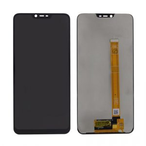 Oppo Realme C1 LCD with Touch Screen - Black (display glass combo folder)