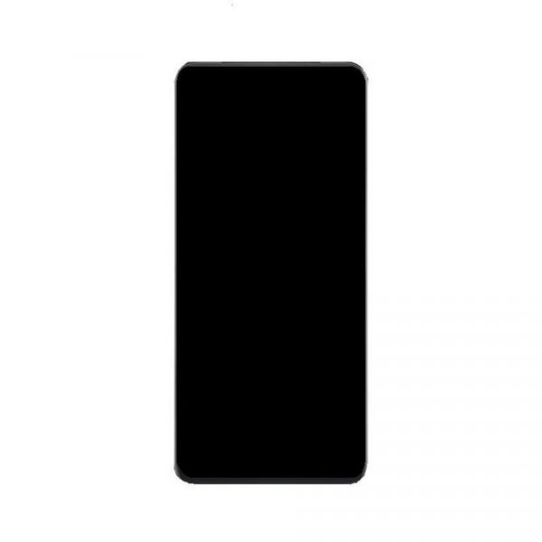 Oppo Reno2 Z LCD with Touch Screen - Black (display glass combo folder)