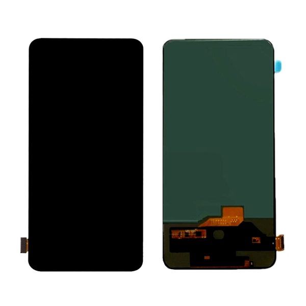 Oppo Reno LCD with Touch Screen - Black (display glass combo folder)