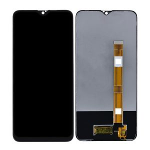 Realme 3i LCD with Touch Screen - Black (display glass combo folder)