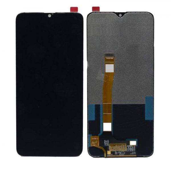 Realme 5 Pro LCD with Touch Screen - Black (display glass combo folder)