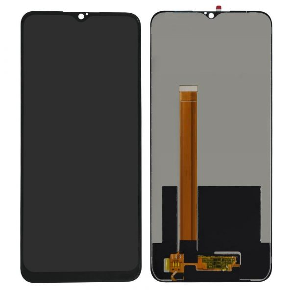 Realme 5 LCD with Touch Screen for -(display glass combo folder)