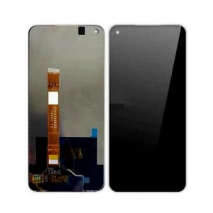 Realme 6 LCD with Touch Screen for - (display glass combo folder)