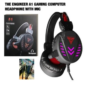engineer a1 gaming computer headphone with mic