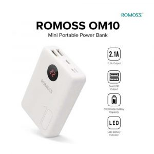 romoss-10000mah-power-bank-om10-3-inputs-2-outputs-fast-charge-portable-charger-type-c-external-battery-pack-compatible-for-iphone-11-iphone-xs-iphone-8-iphone-7-samsung-s20-ipad_607bef3bd2270